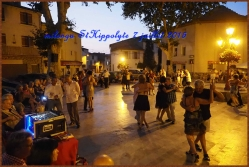 Milonga à St Hippolyte 7 juillet 2015