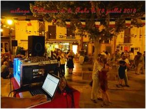 Milonga Villeneuve de la Raho le 13 juillet 2015