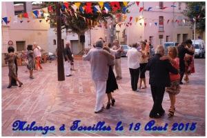 Milonga à Toreilles le 18 Août 2015