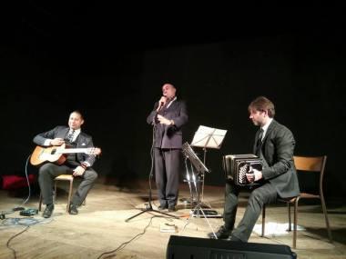 Javier Ciancio, Cristian Ruiz et Marcelo Mercadante