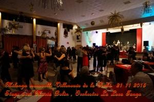 Milonga mensuelle Villeneuve de la Raho le 21 11 2015 stage avec Maria Belèn, orchestre La Lora Tango