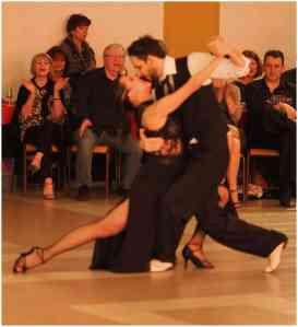 Milonga de los Enamorados del Tango démo César et Virginia 27 02 2016 Photos et Vidéos