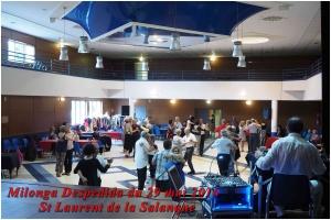 Milonga Despedida du 29 mai 2016 à St laurent de la Salanque