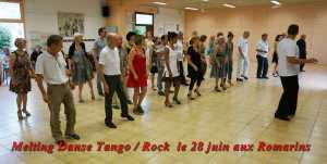 Melting danse / Tango / Rock le 28 juin aux Romarins