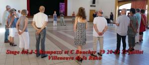 stage été J-S Rampazzi et C Boucher 19 20 21 22 juillet 2016 Villeneuve
