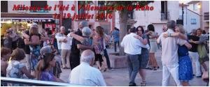 Stage été - milonga Villeneuve place de l église 19 juillet 2016