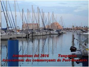 Animations été 2016 Port-Barcarès Association des commerçants de Port-Barcarès
