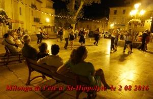 Milonga de l'été à St-Hippolyte le 2 08 2016