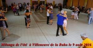 milonga de 'été à Villeneuve de la Raho le 9 août 2016