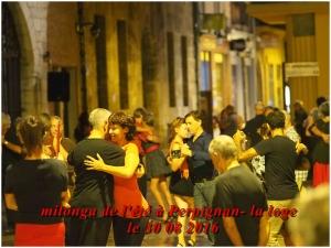 milonga de l'été à Perpignan la Loge le 30 août 2016