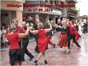 milonga Tardes à la Loge Perpignan le 17 09 201