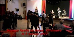Milonga Noche de Reyes Villeneuve le 7 janvier 2017