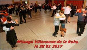 milonga Villeneuve de la Raho le 28 01 2017