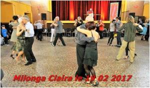 milonga mensuelle Claira le 19 02 2017