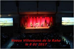 Vœux Villeneuve de la Raho le 8 01 2017