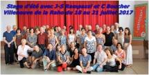 Stage d'été avec J-S Rampazzi et C Boucher à Villeneuve de la Raho du 18 au 21 juillet 2017