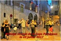 Milonga noches de la Loge Perpignan le 25 juillet 201
