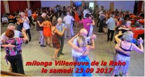 milonga Villeneuve de la Raho le 23 09 2017
