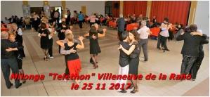 "Milonga ""Telethon"" Villeneuve de la Raho le 25 11 2017"