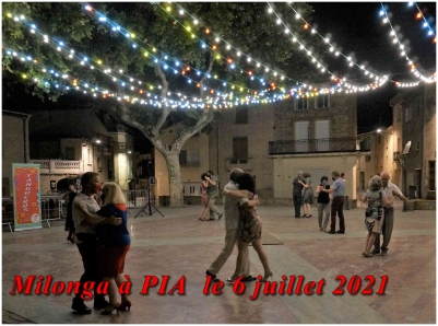 Milonga à PIA  le 6 juillet 2021